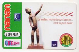 BURKINA FASO Prepayé ONATEL NANAN SONAR 5 000 CFA - Burkina Faso