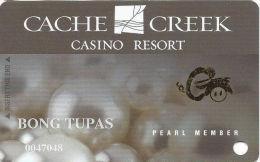 Cache Creek Casino Brooks, CA Slot Card - Different Chinese Zodiac Symbols In Gold Foil