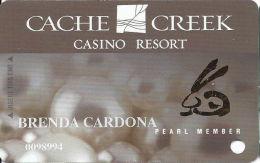 Cache Creek Casino Brooks, CA Slot Card - Different Chinese Zodiac Symbols In Gold Foil - Casino Cards