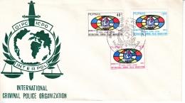 PHILIPPENES  FDC  INTERPOL