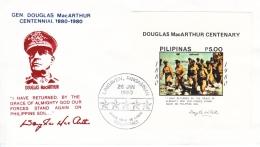 PHILIPPENES  FDC  MacARTHUR - Philippines