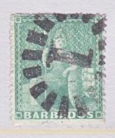BARBADOS  13  Faults  (o)  No Wmk.  Perf 15 - Barbados (...-1966)