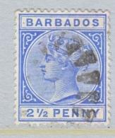 BARBADOS  62   (o)   Wmk. 2 - Barbados (...-1966)