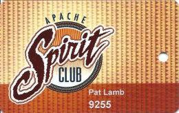 Casino Apache & Inn Of The Mountain Gods Casinos Slot Card - Casino Cards