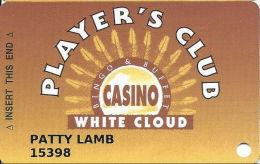 Casino White Cloud - White Cloud, KS - Slot Card - 70mm Wide Signature Strip - Casino Cards