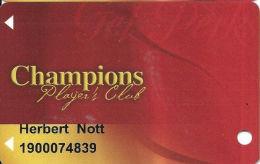 Cimarron Casino Perkins, OK Slot Card - Wide Mag Stripe - Casino Cards
