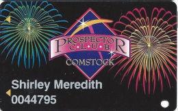 Comstock Casino Reno, NV Slot Card - Casino Cards