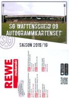 AK Lohrheide-Stadion Postkarte SG Wattenscheid 09 15-16 Deutschland Fußball SGW Football Stadium Postcard Stadio Estadio - Fussball