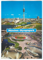 AK Olympia-Stadion Postkarte München Olympiagelände FC Bayern TSV 1860 Munich Olympiastadion Deutschland Germany Stadium - Fussball