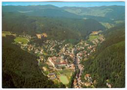 AK Stadion Postkarte Sankt Blasien Im Hochschwarzwald St. Sportplatz Luftbild Luffoto I. Football Ground Deutschland GER - Fussball