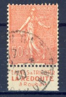 #(41)France. Advertising. REDOUTE. Yvert 199e. Type IIB. Braun 463. Used(o) - Advertising