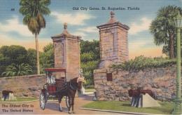 16 / 6 / 320  - OLD  CITY  GATES. ST.  AUGUSTINE , FLORIDA - St Augustine