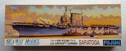 U. S. Aircraft Carrier Saratoga 1/700   ( Fujimi ) - Boats