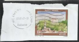 ITALIA REPUBBLICA ITALY REPUBLIC 2007 PROPAGANDA TURISTICA BRUNICO BRUNECK USATO USED OBLITERE´ - 6. 1946-.. Repubblica
