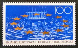 40 EME ANNIVERSAIRE DU CONSEIL DE L'EUROPE 1989 - NEUF ** - YT 1254 - MI 1422 - Neufs