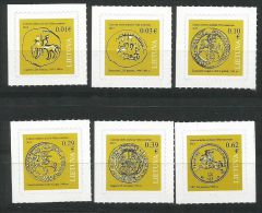 Litauen, 2015, 1176/81, Historische Münzen. MNH ** - Lithuania