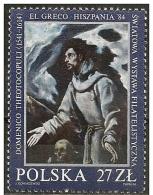 Polonia/Poland/Pologne: San Francesco, Saint-François,  St. Francis, El Greco - Cristianesimo