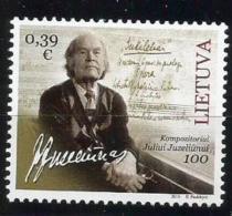 Litauen, 2016, 1213, 100. Geburtstag Von Julius Juzeliunas. MNH **, - Lituania