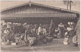 AFRIQUE,AFRICA,Guinée,colonie  Française,CONAKRY IL YA 100 ANS,ile De TOMBO,marché,métier,femme   Sein Nu - Frans Guinee