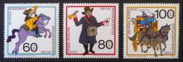 HISTOIRE DES POSTES 1989 - NEUFS ** - YT 1437/39 - MI 1269/71 - Unused Stamps