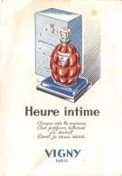 ¤¤  -  Carte Parfumée   -  Heure Intime   -  Vigny    -  Parfum   -  ¤¤ - Cartes Parfumées