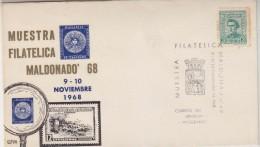 Uruguay 1968 Muestra Filatelica Maldonado '68 Cover (30500) - Uruguay