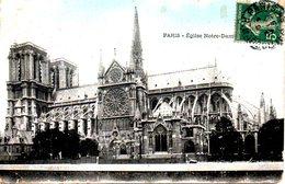 Carte Postale Ayant Circulé En 1907. Eglise Notre-Dame. - Eglises