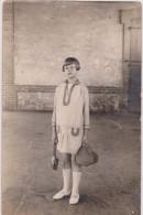 CARTE PHOTO,34,HERAULT,GARE DE PALAVAS,EN 1929,SITUEE AU DOS,PRES MONTPELLIER,ENFANT,FILLE DU PAYS,VUE INTERIEURE - Palavas Les Flots