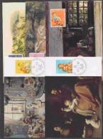Switzerland 1987 Pro Juventute 5v 5 Maxicards (30501) - Pro Juventute