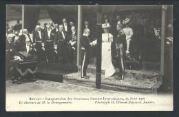 CPA - ANVERS - ANTWERPEN - Inauguration Des Nouveaux Bassins Intercalaires Août 1907 - Roi Reine Dynastie - Pub   // - Antwerpen