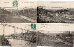 Viaduc De RIBEYRES  - 4 CPA  -   (88548) - Non Classés