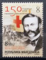 Macedonia, 2013, Mi: ZZ165, Red Cross, (MNH) - Macedonia