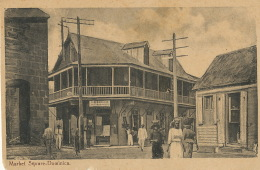 Dominica Market Street  Edit G. Phillip  House Of The Editor On The Card The Variety - Dominique