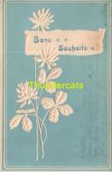 CPA EN RELIEF BONS SOUHAITS D'ELLEZELLES ---> ATH - Ellezelles