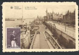 CPA - ANVERS - ANTWERPEN - Le Steen Et Le Port - Het Steen En De Haven - Nels   // - Antwerpen