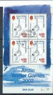 Groënland 2001 Bloc 20A  Oblitéré Jeux Arctiques - Blocks & Sheetlets