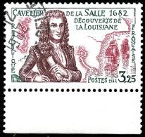 FRANCE  1982     -  Y&T  2250 - Cavelier De La Salle   -  Oblitéré - France