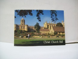 "Christ Church Hall  ""Oxford""  (Gran Bretagna) - Oxford"