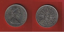 Grande Bretagne  --  2 Pounds 1980  --  état  SUP - 1971-… : Monnaies Décimales