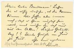 VON WERDER, Albert Busso Leopold Hugo (Merseburg 1852-1936) - General - Erster Weltkrieg - Word War One - Autographes