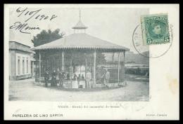 ESPANHA - GALIZA - ORENSE - VERIN - Kiosko Del Manantial De Sousas( Ed. Pap. Lino Garcia) Carte Postale - Orense