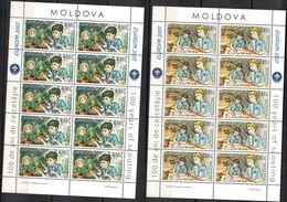 Moldova, 2007, Mi. 582-83, Y&T 506-07, Sc. 556-57, SG 574-75, Europa, Centenary Of Scouting, MNH - Moldova