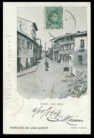 ESPANHA - GALIZA - ORENSE - VERIN - Calle Mayor( Ed. Pap. Lino Garcia) Carte Postale - Orense