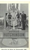 CYCLISME - Boyaux Hutchinson - Pub - Attraction Du Salon De L'automobile 1938 - Cycling
