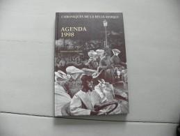 Agenda 1998 - Chroniques De La Belle époque - UCB Pharma - Calendriers