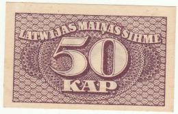 Latvia 50 Kap  Pick 12 XF - Lettonie