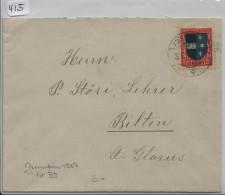 Pro Juventute 1926 J39 Aargau - Ambulant Nach Bilten - Pro Juventute