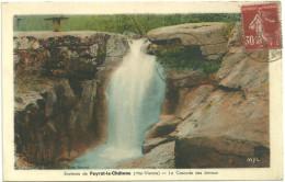 87 - Haute Vienne - Peyrat-le-Château - La Cascade Des Jarraux - 1938 - Autres Communes