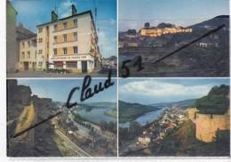 """SIERCK Les BAINS (57) Hôtel - Restaurant """"AU CHATEAU  FORT""""  Vues Panoramique Du Château - France"""
