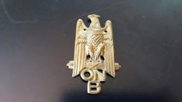 FREGIO O.N.B. OPERA NAZIONALE BALILLA DA FEZ BALILLA FASCISTA - Militaria
